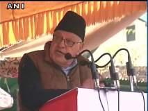 काश्मीरच्या स्वातंत्र्यासाठी आम्ही प्राणसुद्धा देऊ - फारुख अब्दुल्ला