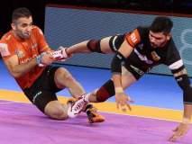 Pro Kabaddi League : इराणचा खेळाडू घालतोय धुमाकूळ; भारतीयांची करतोय पकड
