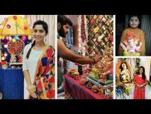Ganpati Festival 'या' मराठी कलाकारांनीसुद्धा केला गणेशोत्सव साजरा