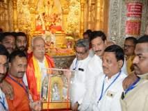 राम मंदिरासाठी माेहन भागवतांचे दगडूशेठ गणपतीकडे साकडे