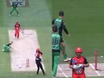आऊट झाला म्हणून अॅरोन फिंचने खुर्चीवर काढला राग, क्रिकेट ऑस्ट्रेलियाकडून कारवाई