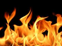 नागपुरात उपद्रवी दारूड्याने घराला लावली आग