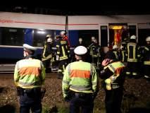 जर्मनी- भीषण रेल्वे अपघातात 50 प्रवासी जखमी