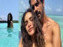 मालदीवमध्ये अर्जुन रामपालचा प्रेग्नेंट गर्लफ्रेंड गॅब्रिएलासोबत खुल्लम खुल्ला रोमांस, पहा त्यांचे Photo