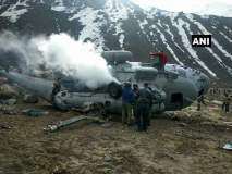 केदारनाथमध्ये भारतीय हवाई दलाचं M-17 हेलिकॉप्टर कोसळलं, 5 जण जखमी