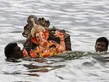 Ganesh Visarjan 2018 : गणपती बाप्पा मोरया, पुढच्या वर्षी लवकर या!