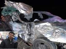 गतिरोधकावर ट्रक आणि कारची धडक; भीषण अपघातात गंगापूर येथील डॉक्टरांचा जागीच मृत्यू