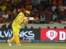 IPL 2019 : ... आणि चेन्नई-हैदराबाद सामन्यात रंगला नो-बॉलचा वाद