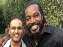 IPL 2018 : गेलला संघात घेऊन आयपीएलला वाचवलं - सेहवाग