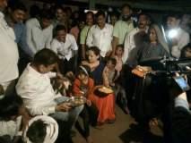 जलसंपदामंत्री गिरीश महाजन यांनी जळगावात आदिवासींसोबत साजरी केली दिवाळी