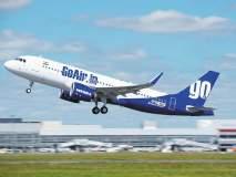 ...आणि गो एअरचे विमान मुंबईकडे वळवले