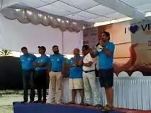 इंडिया प्रीमियर ओपन स्विमिंग चॅम्पियनशिपचे आयोजन ओखी वादळाच्या धोक्यामुळे पुढे ढकलले