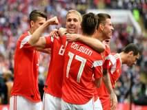 FIFA World Cup 2018 : रशियाचा दणदणीत विजयारंभ; सौदी अरेबियावर 5-0 अशी मात