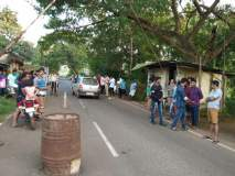 ट्रीपल सीटवाल्या गोवा पोलिसांची दादागिरी, सिंधुदुर्ग ट्रॅफिक पोलिसाला केली मारहाण