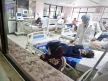 गोरखपूरच्या बीआरडी मेडिकल कॉलेजमध्ये 48 तासांत 30 मुलांचा मृत्यू