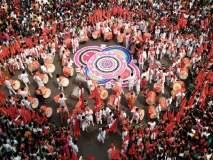Gudi Padwa 2018 : ढोलताशाने भरली तरूणाईत झिंग