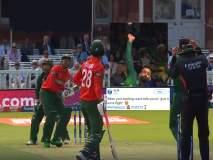 ICC World Cup 2019: पाकच्या मोहम्मद हाफिजचा 'चेंडू' आयसीसीनं अंतराळात पोहोचवला, पाहा व्हिडीओ