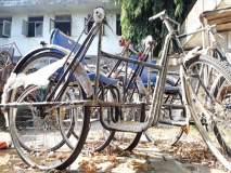 दिव्यांगांसाठी आणलेल्या सायकली धूळखात