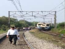 हार्बर रेल्वेची वाहतूक ठप्प, बेलापूर स्थानकाजवळ ओव्हरहेड वायर तुटली