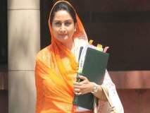 No Confidence Motion: ... म्हणून हरसिमरत कौर राहुल गांधींकडे पाहून हसल्या!