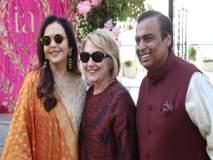 Isha Ambani-Anand Piramal Wedding: ईशा-आनंदच्या प्री वेडिंग सोहळ्यासाठी दिग्गजांची हजेरी