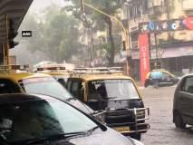 मुंबईत जोर'धार' पाऊस, हिंदमाता परिसरात साचलं पाणी