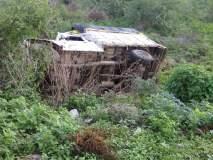 हिंगोलीच्या वारकऱ्यांच्या वाहनास अपघात; एका भाविकाचा जागीच मृत्यू
