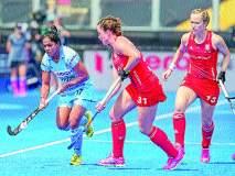 विश्वचषक महिला हॉकी : भारताने विजयाची संधी गमावली; अखेरच्या क्षणी इंग्लंडने साधली बरोबरी