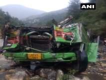 हिमाचल प्रदेशमध्ये बस दरीत कोसळून भीषण अपघात, 33 जणांचा मृत्यू