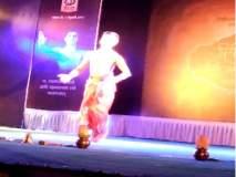 संगीत महोत्सवात प्रसिद्ध नर्तक पार्श्वनाथ उपाध्ये यांचॆ भरतनाट्यम