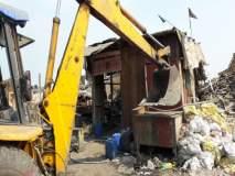 मुंबई : मानखुर्द-मंडाळा भागातील ६३ गोदामांवर निष्कासन कारवाई,महापालिकेच्या'एम पूर्व'विभागाची धडक कारवाई