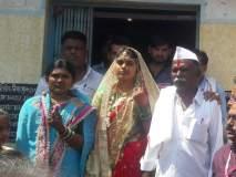 आधी लग्न लोकशाहीचे;वधूने लग्नाआधी बजावला मतदानाचा अधिकार