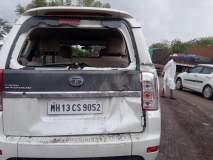 कार अपघातात सोलापूर जिल्हा परिषदेचे सीईओ राजेंद्र भारूड बालंबाल बचावले