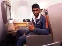मुंबई विमानतळावर भारतीय खेळाडूंची धमाल !