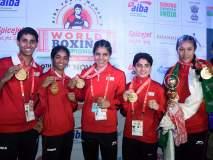 वर्ल्ड बॉक्सिंग चॅम्पिअनशिपमध्ये भारतीय महिला बॉक्सर्सचा बोलबाला