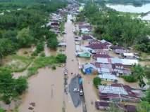 Indonesia floods : इंडोनेशियात पुराचा हाहाकार; 29 जणांचा मृत्यू