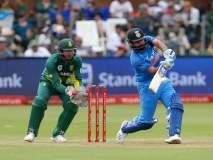 दक्षिण आफ्रिकेने आव्हान कायम राखले, भारताचा ६ गड्यांनी पराभव