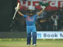 लंकेविरुद्ध तुफानी रो'हिट' शो...भारताची २-० अशी विजयी आघाडी