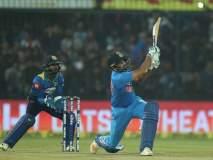 रोहित चमकला! भारत जिंकला