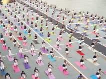 International Yoga Day 2018 : जागतिक योग दिनाचा नागरिकांमध्ये उत्साह