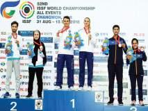 आयएसएसएफ विश्व नेमबाजी स्पर्धा : भारताच्या मिश्र ज्युनिअर संघाचे कांस्य, ज्युनिअर खेळाडूंची पदक कमाई कायम