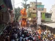 कार्तिकी एकादशीनिमित्त जळगावात प्रभू रामचंद्रांची रथयात्रा