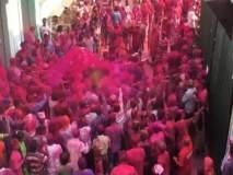 गोव्यातील जांबावली येथील प्रसिद्ध गुलालोत्सव