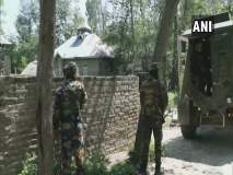 Jammu And Kashmir : पुलवामा चकमकीत दोन दहशतवाद्यांचा खात्मा