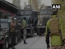 Jammu-Kashmir : एका दहशतवाद्याचा खात्मा करण्यात जवानांना यश