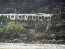 Japan floods : जपानमध्ये भूस्खलन आणि महापूराचा हाहाकार, पाहा फोटो