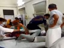 डॉक्टरकडून रुग्णाला बेदम मारहाण, व्हिडीओ सोशल मीडियावर व्हायरल