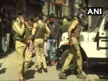 श्रीनगरमध्ये दहशतवादी हल्ला, दोन नागरिक मृत्युमुखी