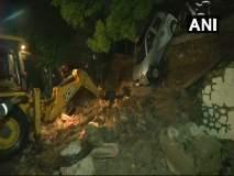 जोगेश्वरीत इमारतीची संरक्षण भिंत कोसळली,6 कार आणि एका दुचाकीचे नुकसान