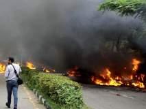 राम रहीम यांच्या अटकेनंतर पंचकुला, दिल्लीत त्यांच्या समर्थकांनी केलेला हिंसाचार